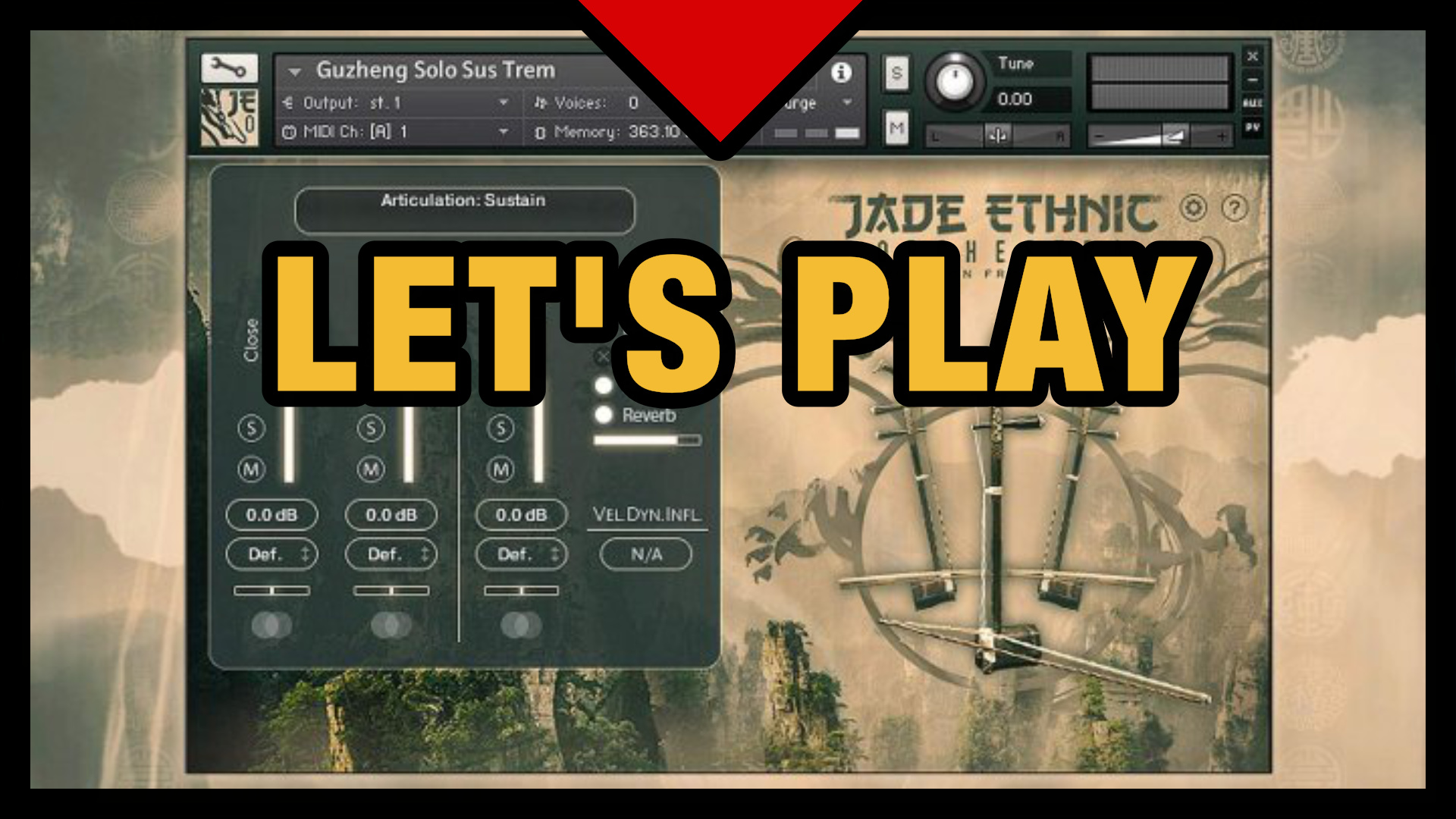 Let's Play Jade Ethnic Orchestral by Strezov Sampling