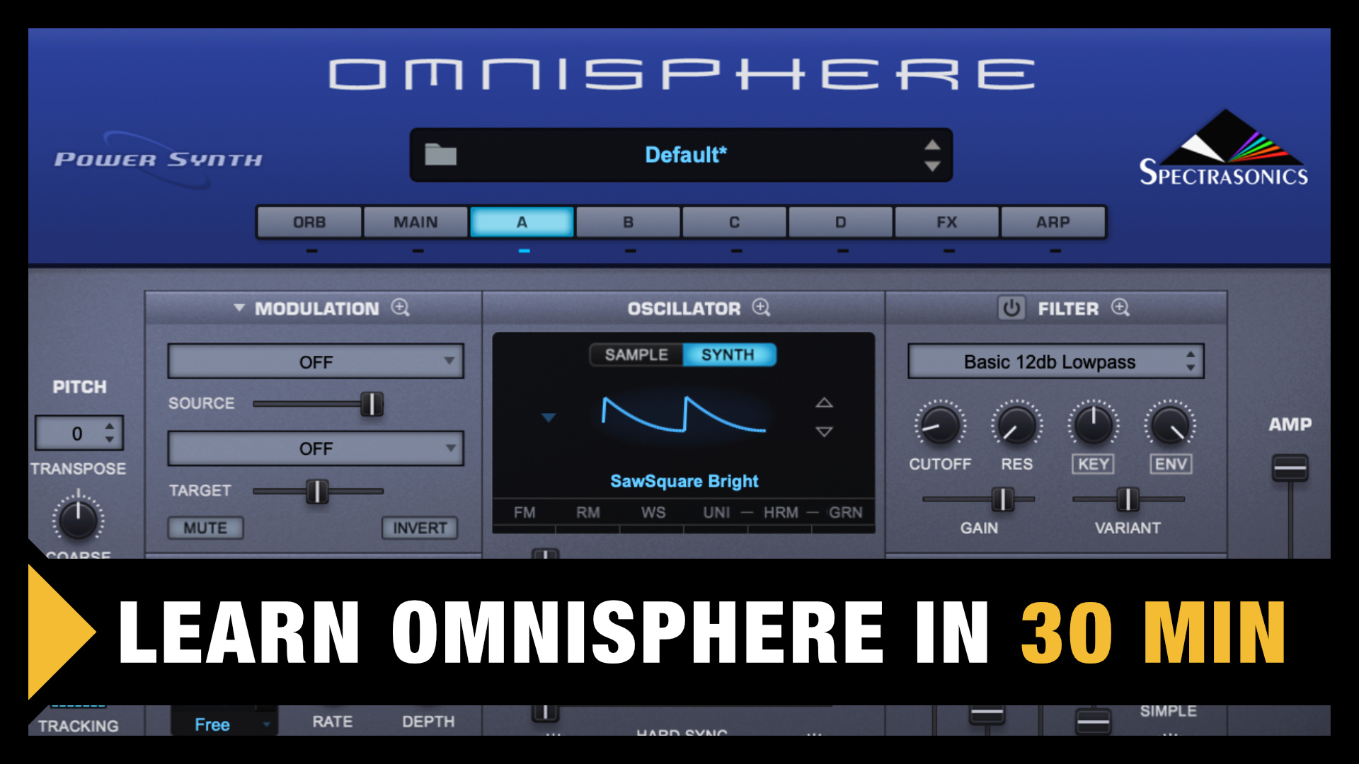 Omnisphere for Beginners (Tutorial)