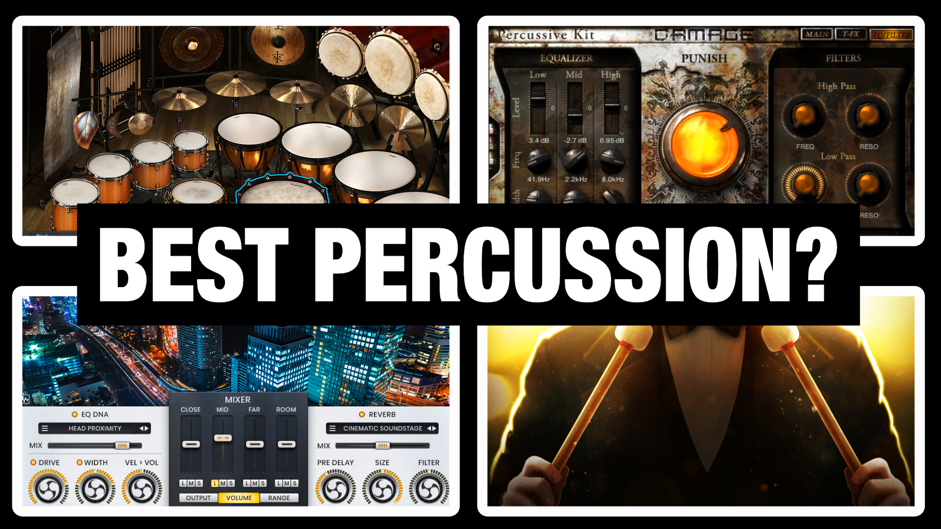 10 Amazing Orchestral Percussion VSTs & Libraries